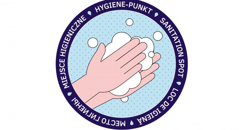 Aufkelber Aktion Händewaschen