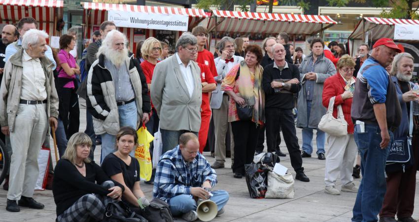 """Zentralveranstaltung """"Der Sozialstaat gehört allen"""""""